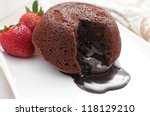 chocolate fondant lava cake...
