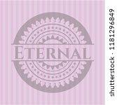 eternal pink emblem. retro   Shutterstock .eps vector #1181296849