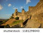 Ancient Castle Of Carcassonne...