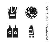 flavor icon. 4 flavor vector... | Shutterstock .eps vector #1181331220