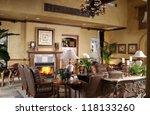 beautiful living room ... | Shutterstock . vector #118133260