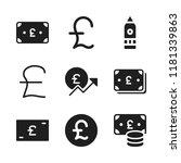 britain icon. 9 britain vector...   Shutterstock .eps vector #1181339863