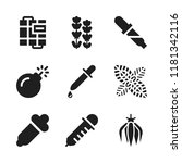 aromatherapy icon. 9... | Shutterstock .eps vector #1181342116