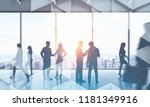 business people walking and...   Shutterstock . vector #1181349916
