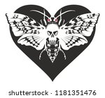 vector graphic abstract... | Shutterstock .eps vector #1181351476
