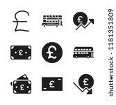 britain icon. 9 britain vector...   Shutterstock .eps vector #1181351809