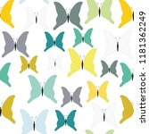 turquoise  green and mustard... | Shutterstock .eps vector #1181362249