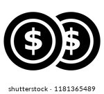 finance collection isolated... | Shutterstock .eps vector #1181365489