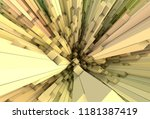 3d rendering  many colorful... | Shutterstock . vector #1181387419