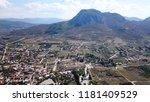 aerial drone bird's eye view... | Shutterstock . vector #1181409529