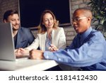 group of business people.... | Shutterstock . vector #1181412430
