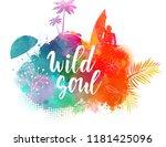 inspirational modern... | Shutterstock .eps vector #1181425096