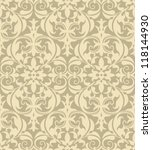 Damask Pattern   Vector...