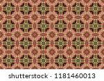 design in orange  red and brown ... | Shutterstock . vector #1181460013