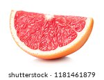 slice of perfectly retouched... | Shutterstock . vector #1181461879