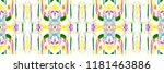 colorful horizontal... | Shutterstock . vector #1181463886