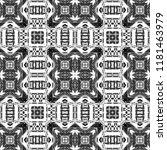 black and white pattern for... | Shutterstock . vector #1181463979