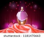 3d perfume bottle or sprayer.... | Shutterstock .eps vector #1181470663