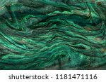 gold and green marbling texture ... | Shutterstock . vector #1181471116