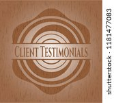 client testimonials realistic... | Shutterstock .eps vector #1181477083