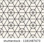 vector seamless pattern. modern ... | Shutterstock .eps vector #1181487673