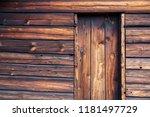 Old  Viking Wooden Door On...