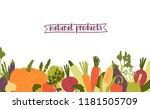 horizontal banner template... | Shutterstock .eps vector #1181505709