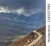 majestic view of babusar pass. | Shutterstock . vector #1181527483