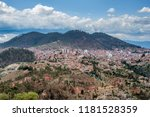 aerial view of sucre  bolivia | Shutterstock . vector #1181528359