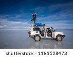 salar de uyuni  bolivia  march...   Shutterstock . vector #1181528473