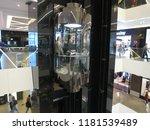 transparent elevator for... | Shutterstock . vector #1181539489