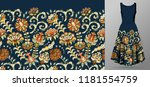 vector seamless pattern with... | Shutterstock .eps vector #1181554759