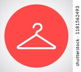 hanger vector icon 10 eps | Shutterstock .eps vector #1181562493