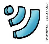 cartoon doodle wi fi | Shutterstock . vector #1181567230