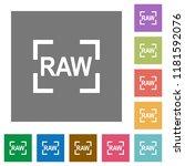 camera raw image mode flat... | Shutterstock .eps vector #1181592076