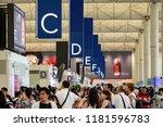 hong kong   september 17  2018  ... | Shutterstock . vector #1181596783