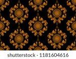 seamless wallpaper pattern.... | Shutterstock .eps vector #1181604616