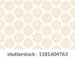 seamless beige decorative... | Shutterstock .eps vector #1181604763