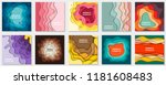 vector collection of 10... | Shutterstock .eps vector #1181608483