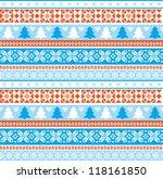 christmas ornamental... | Shutterstock .eps vector #118161850