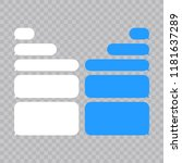 message bubbles chat vector.... | Shutterstock .eps vector #1181637289