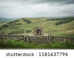 a religious shrine building in... | Shutterstock . vector #1181637796