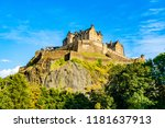 edinburgh  scotland  uk  the... | Shutterstock . vector #1181637913