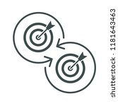 replacement of target ... | Shutterstock .eps vector #1181643463