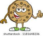 cartoon illustration of a... | Shutterstock .eps vector #1181648236