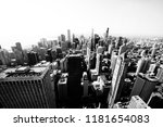 aerial view of chicago skyline | Shutterstock . vector #1181654083