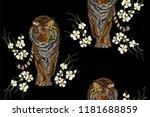 beautiful seamless vector... | Shutterstock .eps vector #1181688859