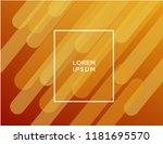 minimal geometric background....   Shutterstock .eps vector #1181695570