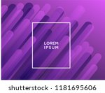 minimal geometric background.... | Shutterstock .eps vector #1181695606