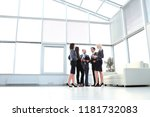 successful and happy business...   Shutterstock . vector #1181732083